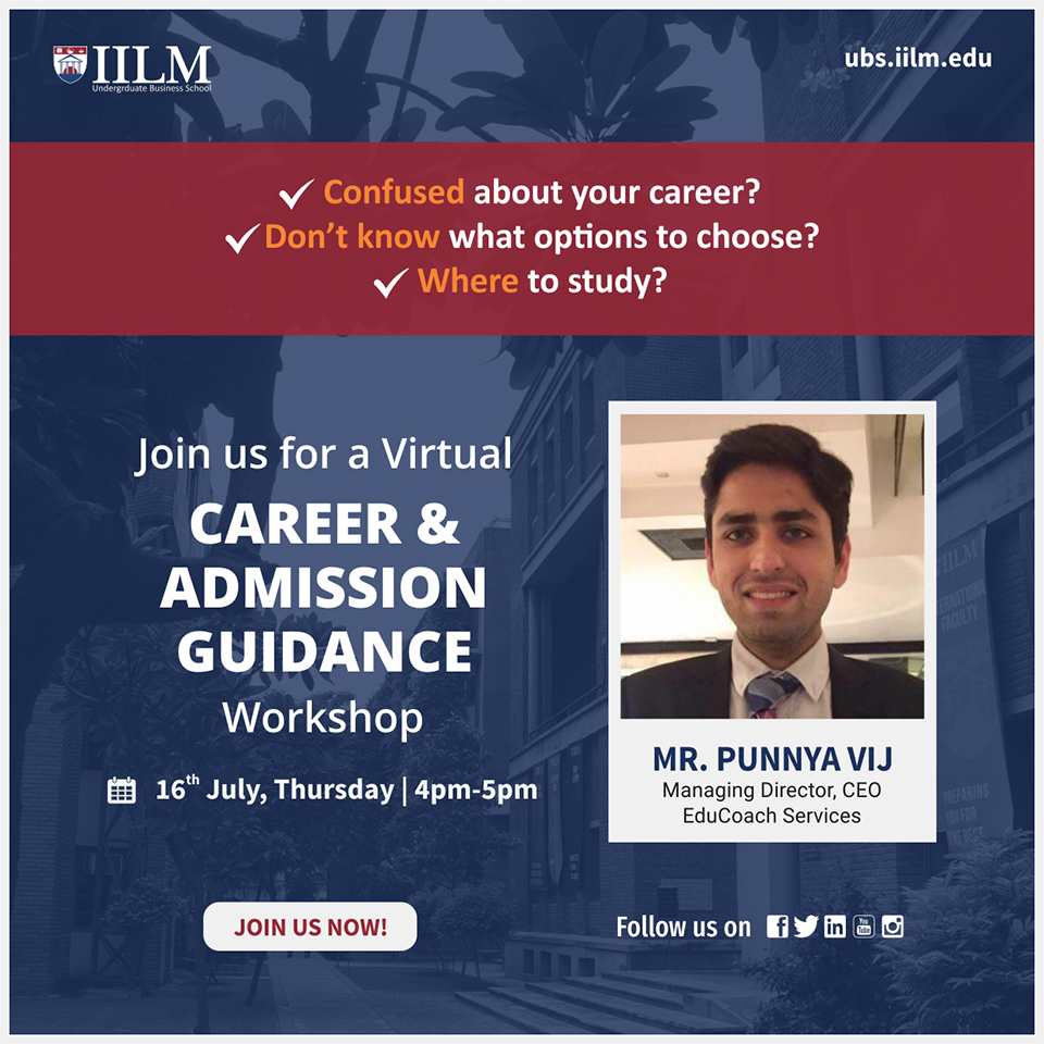Career & Admission Guidance Workshop