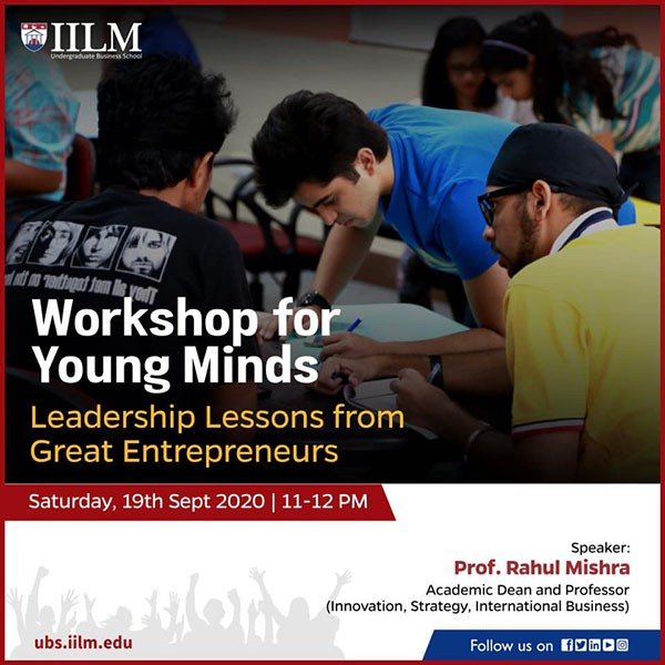 Workshop for Young Minds