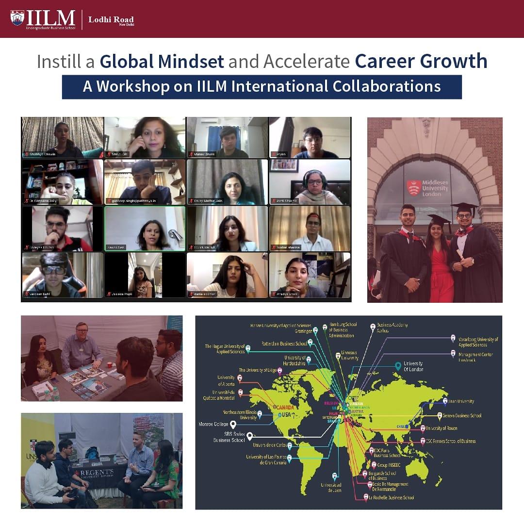 A workshop on IILM International Collaborations